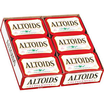 Costco - Altoids Peppermint Mints, 12/1.76 oz