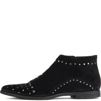 ICIKLP2 Free People for Women: Aquarian Black Ankle Boots