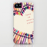 love in every color iPhone Case by Shannonblue | Society6
