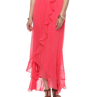 Flounced Maxi Skirt | FOREVER21 - 2087534274
