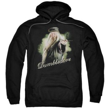 Harry Potter Dumbledore Wand Licensed Adult Hoodie