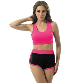 New Summer Sexy Sport Suit Women Tracksuits Costume 3 Colors Irene Sets 2-pieces ( Sports Tops + Shorts) Female