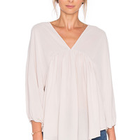 SAM&LAVI Anya Top in Blush