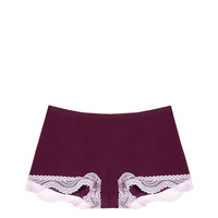 Wavy Lace Trim Shortie Panty - Victoria's Secret