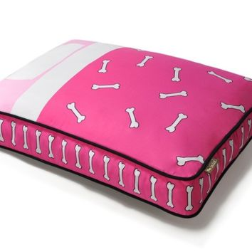 P.L.A.Y. Tuck Me In Rectangular Bed - Hot Pink/Powder Pink