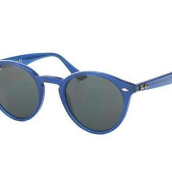NEW Genuine Ray Ban RB2180 616587 49 Blue Mens Sunglasses Glasses
