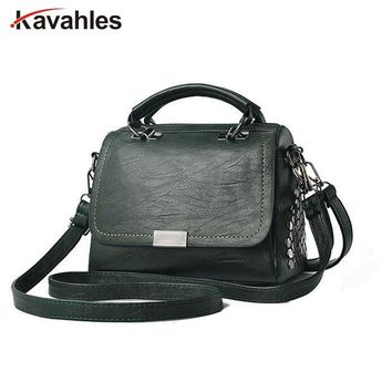 Casual Women Soft Pu Leather Handbag Female Shoulder Bag Messenger Bag Larger Size Winter Women Bag PP-937