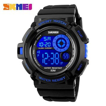 Skmei Fashion Men's Watch Casual Sport digital-watch Luxury Brand LED wristwatches Mans relogio masculino Watches Men Clock