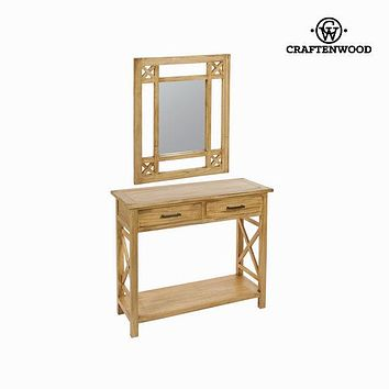 Hall cabinet with mirror ios - Village Collection by Craftenwood