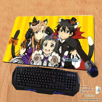 New Sword Art Online Anime Gaming Playmat Multipurpose Mousepad PM34