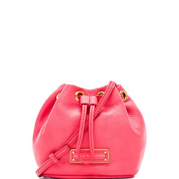 Marc by Marc Jacobs Too Hot to Handle Mini Drawstring in Bright Coral