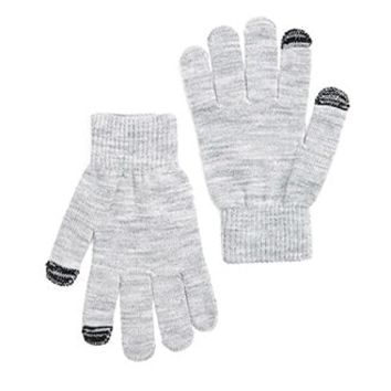 Purl Knit Touchscreen Gloves