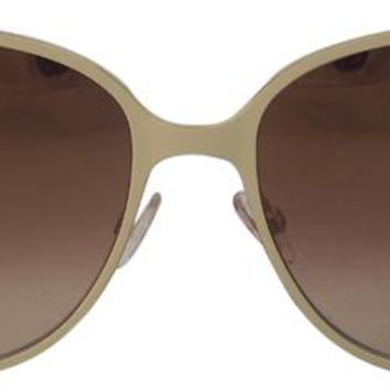 jimmy choo sunglasses - ivory gold glitter