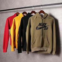 NIKE SB Women/Men Fashion Pullover Sweater Sweatshirt Hoodie F