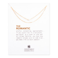 """DOGEARED """"THE ROMANTIC"""" NECKLACE"""