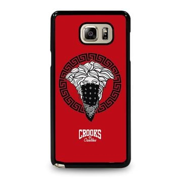 CROOK AND CASTLES BANDANA RED Samsung Galaxy Note 5 Case