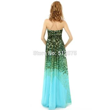 Mint Green Long Prom Dresses Sweetheart A Line Prom Dresses Zipper