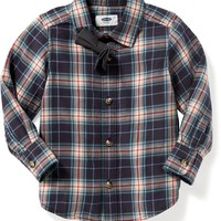 Shirt & Bow-Tie Set for Toddler Boys | Old Navy