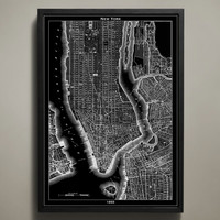 Map Print, NEW YORK CITY