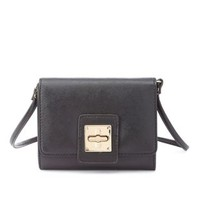 Textured Mini Cross-Body Bag by Charlotte Russe - Black