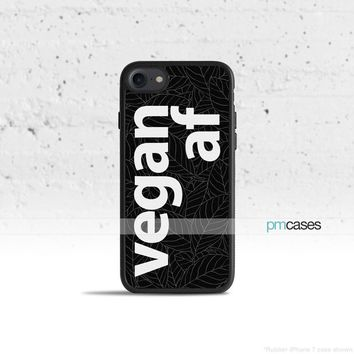 Vegan AF Phone Case Cover for Apple iPhone iPod Samsung Galaxy S & Note