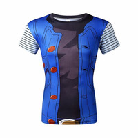 dragon ball z Android 18 shirt