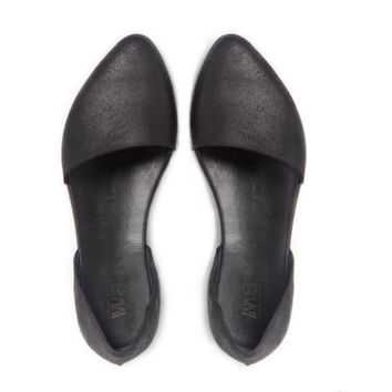 Flat evening shoes,Doll shoes, Black shoes ,  Summer shoes, Women shoes