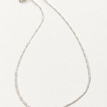 Simple Figaro Chain Necklace   Urban Outfitters