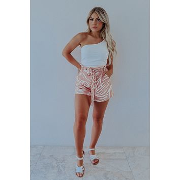 A Must Have Crop Top: Ivory