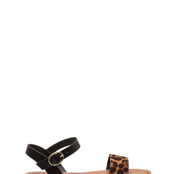 Chill Lifestyle Strappy Leopard Sandals