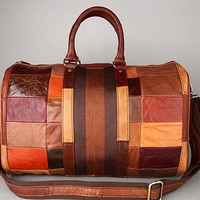 High Quality Mens Genuine Real cowhide Leather Duffle Travel Luggage Suitcase Messenger Shoulder Tote Bag 803165