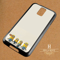 Funny Minions Banana Song Samsung Galaxy S3 S4 S5 S6 S6 Edge Case | Galaxy Note 3 4 Case