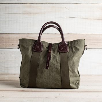 Officer's Army Duck Tote - Bags