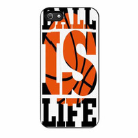 basketball ball is life case for iphone 5 5s