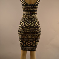 SEXY TRIBAL DRESS