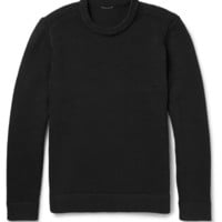 Theory - Savar Textured-Knit Cotton-Blend Sweater | MR PORTER