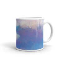 Watercolor Cloud Mug