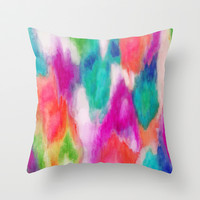 Epiphany 2 Throw Pillow by Jacqueline Maldonado
