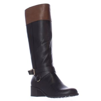 SC35 Vedaa Riding Boots, Black/Barrel, 5 US