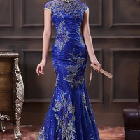 Chinese Wedding Ball Cheongsam Modified Bridal Reception Qipao