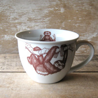 Mug With Baby Sloths Teacup Style