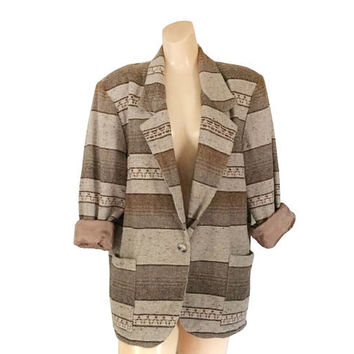 Women Boho Clothing Women Bohemian Clothing Bohemian Clothes 90s Blazer Rustic Clothing Women Blazer Southwest Jacket Boho Clothes 1990s