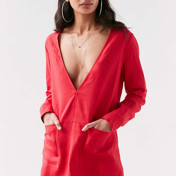 Dolce Vita Bethany V-Neck Shift Dress - Urban Outfitters