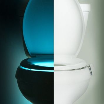 illumiBowl Motion Activated Toilet Night Light