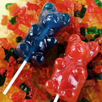 Large Gummi Bear (on a stick) at Firebox.com