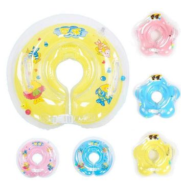 PEAPUNT New swimming baby accessories swim neck ring baby Tube Ring Safety infant neck float circle for bathing Inflatable Newest Drop