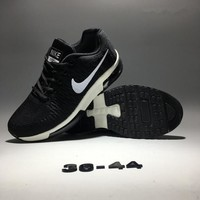 """Nike Air Zoom"" Unisex Fashion Sport Casual Knit Air Cushion Sneakers Couple Running Shoes"