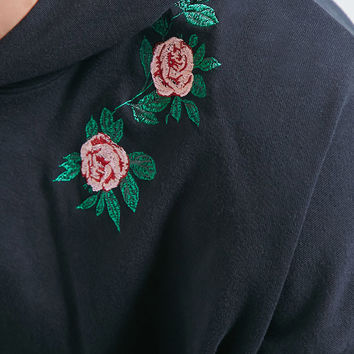 Private Academy Floral Hoodie