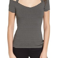 Bailey 44 Kiss & Tell Cold Shoulder Top | Nordstrom