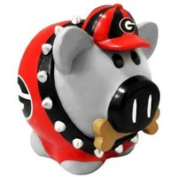 Georgia Bulldogs NCAA Team Thematic Piggy Bank